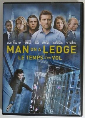 Man On A Ledge Dvd  -  Previously Viewed            (Inv17670)