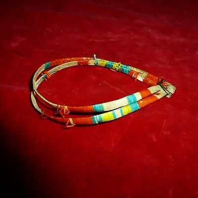 Rare Ca 1880 Native American Sioux Indian Warrior's Porcupine Quill Armband