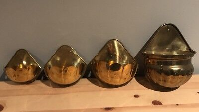 Indian Brass Wall Pocket Collection Made In India