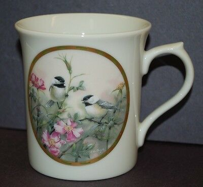 Lenox Nature's Collage Mug Collection by Catherine McClung 1994, ROSE MORNING