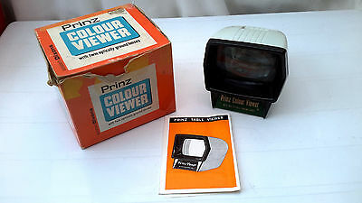 Prinz Colour Viewer Slide Viewer (Boxed, Instructions)