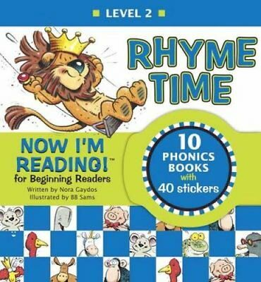 Now I'm Reading! Level 2 Rhyme Time by Nora Gaydos 9781101919613