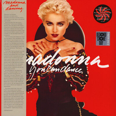 Madonna You Can Dance EU edition RSD 2018 RED vinyl LP +poster NEW/SEALED