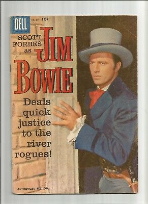 THE ADVENTURES OF JIM BOWIE DELL COMIC No.893