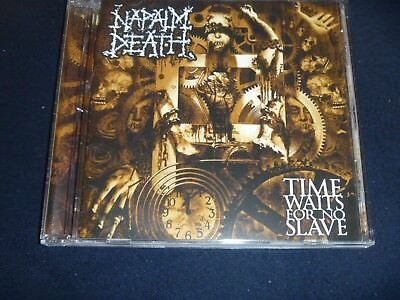 Napalm Death Cd Time Waits For No Slave