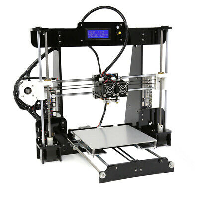 Anet A8-M DIY 3D Printer Kit Dual Extruder Support Dual-Color Printing 220*220*2