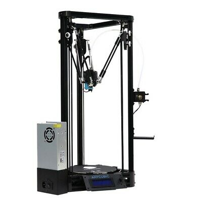 Anycubic Kossel Upgraded Pulley Version 3D Printer With Auto-Leveling Dual Cooli