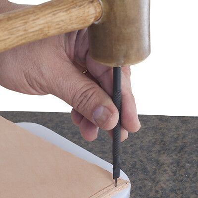 Metal Complex Leather Lacing Chisel
