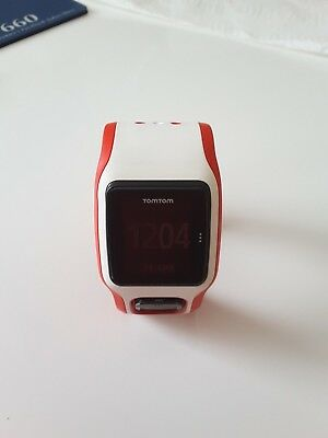 TomTom Runner Cardio GPS Sports watch, small strap, usb charger