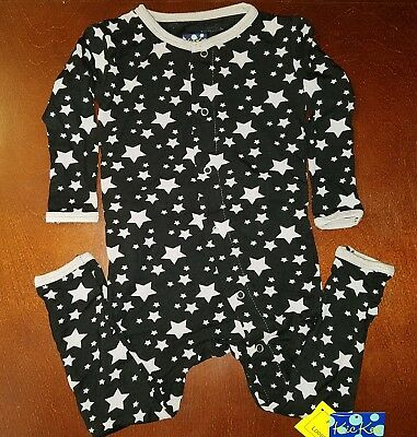 KicKee Pants Midnight Stars Toddler Boy Coverall 12-18 Months New