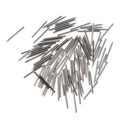 One Set 1.28mm Dia Nickel Plated Piano Center Pins Piano Action Repair Parts