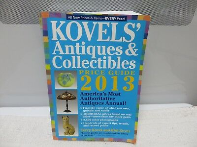 Kovels' Antiques & Collectibles Price Guide 2013 - Paperback - Pre-owned