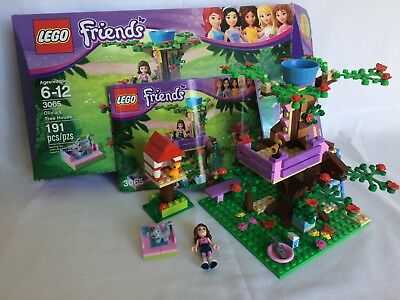 Lego Friends Olivias Tree House 3065 100 Complete Includes Box