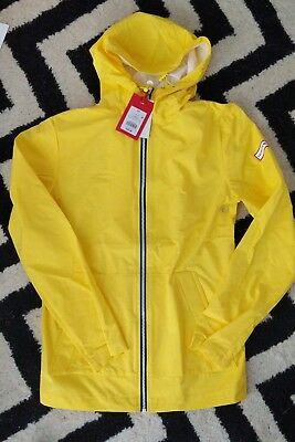NWT Hunter For Target Yellow Packable Rain Coat Jacket Size Extra Small XS