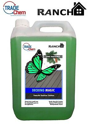 DECKING MAGIC - Decking Cleaner - Reviver - Anti-Bacterial Solution PINE