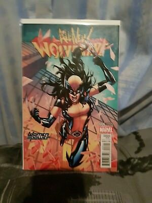 Marvel Comic All New Wolverine #6 Women of Power Variant First Print New! Mint!