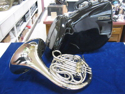 MINT USED C.G. Conn V8D DOUBLE FRENCH HORN, IMMACULATE!