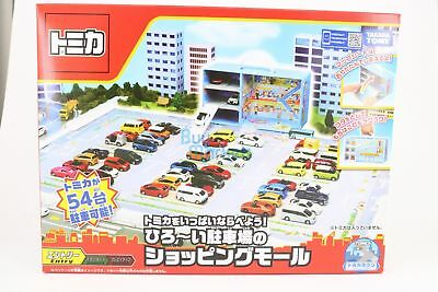 Takara Tomy Town Tomica City Shopping Mall Map with big parking NO CAR Japan