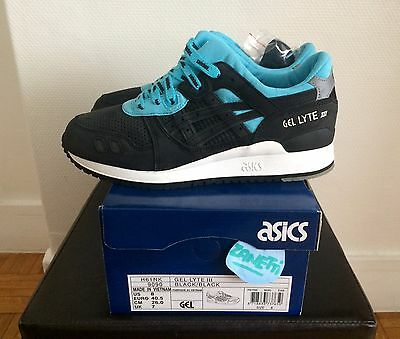 ASICS Gel Lyte 3 x solebox Blue Carpenter Bee UE 41.5 US 9 UK 8 DS NEW