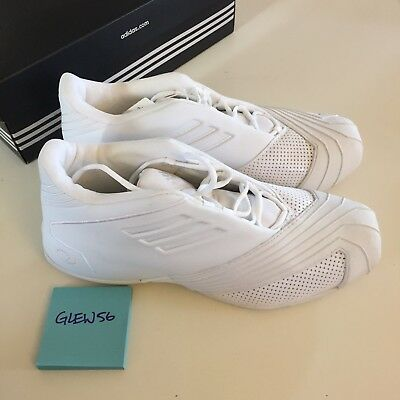 c391a5d7053c Adidas TMAC 1 Tracy McGrady OG RARE All White Size 12 Brand New NIB DS