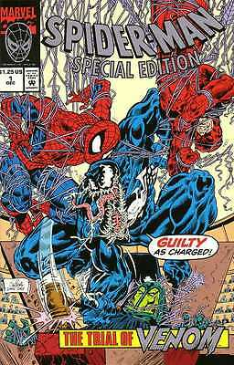 SPIDER-MAN SPECIAL EDITION THE TRIAL OF VENOM Marvel 1992 UNICEF NEW UNOPENED