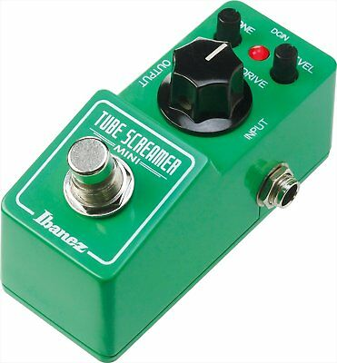 Ibanez Ts Mini Tube Screamer Mini Guitar Effect Pedal w/ Tracking