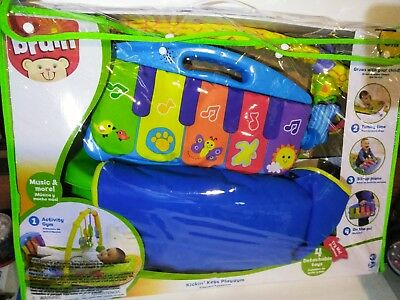 Bruin Kickin' Keys Playgym New in Opened Packaging Tested Working Toys R US RIP