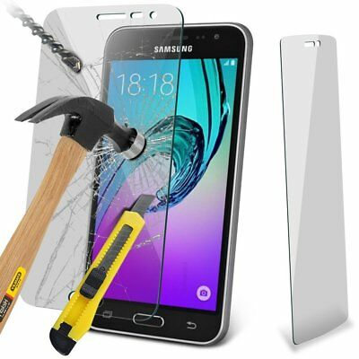 Real Tempered Glass Screen Protector LCD Protection For Samsung Galaxy J3 (2016)