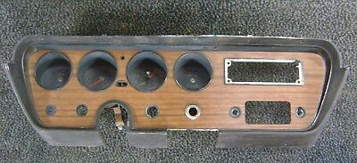 1967 GTO Dash housing with Tachometer and Gauges NICE
