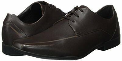 4d0f9886c07b0 MENS CLARKS GLEMENT Over Black Leather Formal Lace Up Shoes G ...