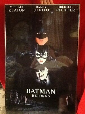 Batman Returns 1992 Original Movie Poster Action Framed