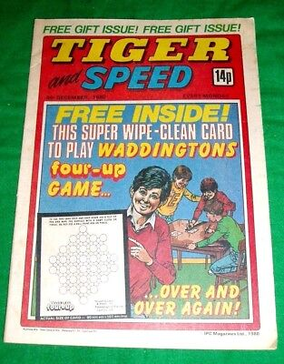 Tiger Comic 1980 With A Stunning  Ipswich Town  Colour Centrefold Team Poster