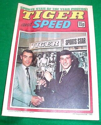 Tiger Comic Jan 1981 With Stunning  Notts County Team Colour Centrefold Poster
