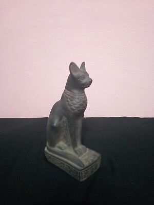 RARE ANTIQUE ANCIENT EGYPTIAN Statue of Cat goddess Bast-Bastet 945–715 Bc