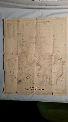 Carlisle Conservation Commission Map of Carlisle Ma
