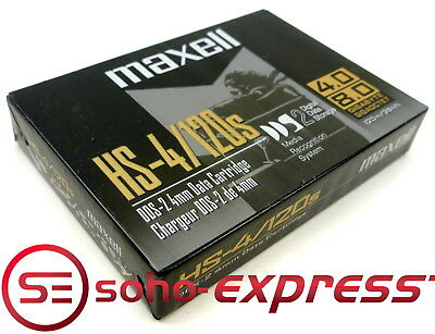Maxell Dds-2 120M 4Mm Cartridge Digital Data Storage 4/8Gb Hs-4/120S