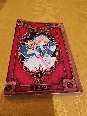 Manga Fantasy CARDCAPTOR SAKURA by Clamp Paperback Book # 4