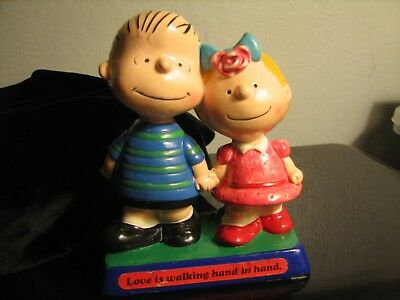 PEANUTS LINUS and PATTY UNITED FEATURE SYNDICATE 1970