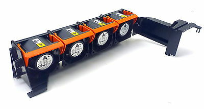 Dell Brushless Fan X4 Lot 12V In Chassis Pfc0612De Yw880 Poweredge 2950