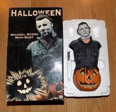 NECA Halloween Light Up Michael Myers Mini Bust 2005 Horror #d /2500 Rare