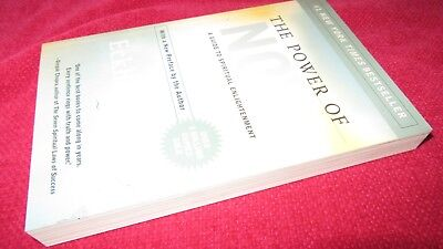 The POWER of NOW ~ Eckhart Tolle. Guide to Spiritual Enlightenment  NEW in MELB