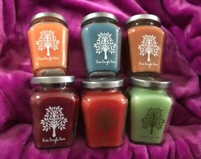 Home Interiors /Celebrating Home # 2 Set Of 6 Variety Candles See Pictures