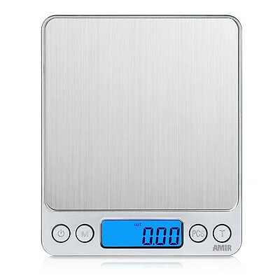 Portable 500g/0.01g Mini Pocket Digital Weight Electronic LCD Gold Jewelry Scale