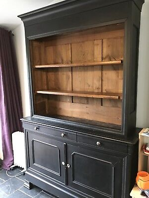 large antique solid oak dresser