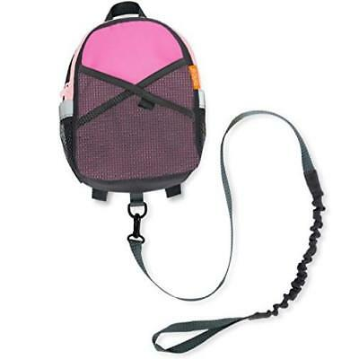 Brica By-My-Side Safety Harness Backpack Pink/Gray MYTODDLER New