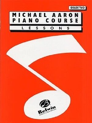 Michael Aaron Piano Course - Lessons, Grade Two (Red Book)