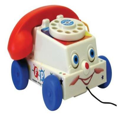 Fisher Price Classic Chatter Phone Toy Pull Telephone Toddler Baby Retro Fishe