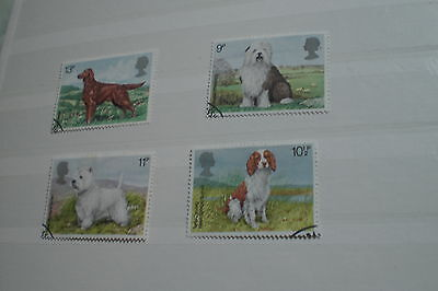Great Britain-Dogs Used Set 1979