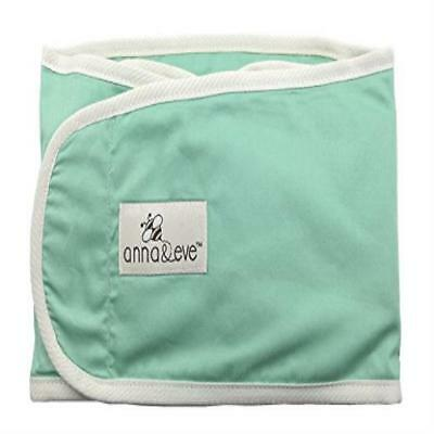 Anna & Eve Swaddle Strap Arms Only Baby Swaddle Aqua Large Strong Easy To Use Ne