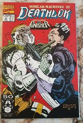 Deathlok #6 Nm Punisher 1 Silvermane 1 Appearances 1991 High Grade Comic 1